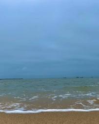 被海風吹過的夏天