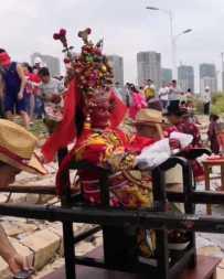 山亭镇东仙村东蔡端午节海祭预告