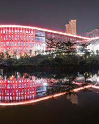 博物館夜景